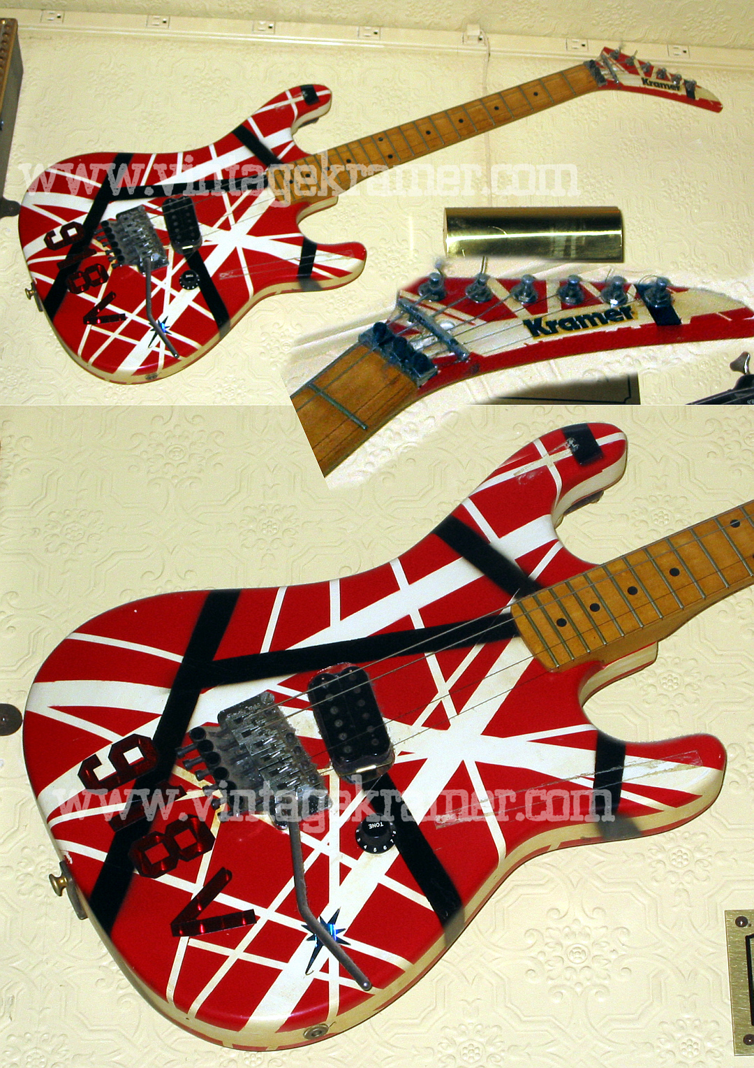 One Of The Coolest Guitars Of Evh Have I Ever Saw Ultimate Guitar