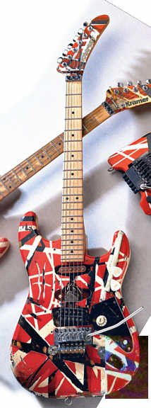 Homemade Van Halen Frankenstein 67