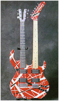 Edward Van Halens Guitars