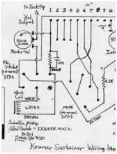 kramer sustainer additionally theres some misc schematics below that help in your wiring process two are official kramer schematics and one is an official schematic