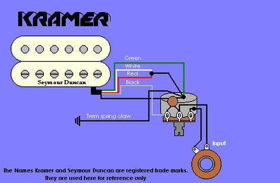 Kramer Wiring Information and Reference – Evh Wiring Diagram