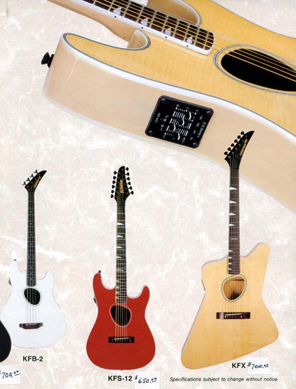 Kramer Acoustic Guitars