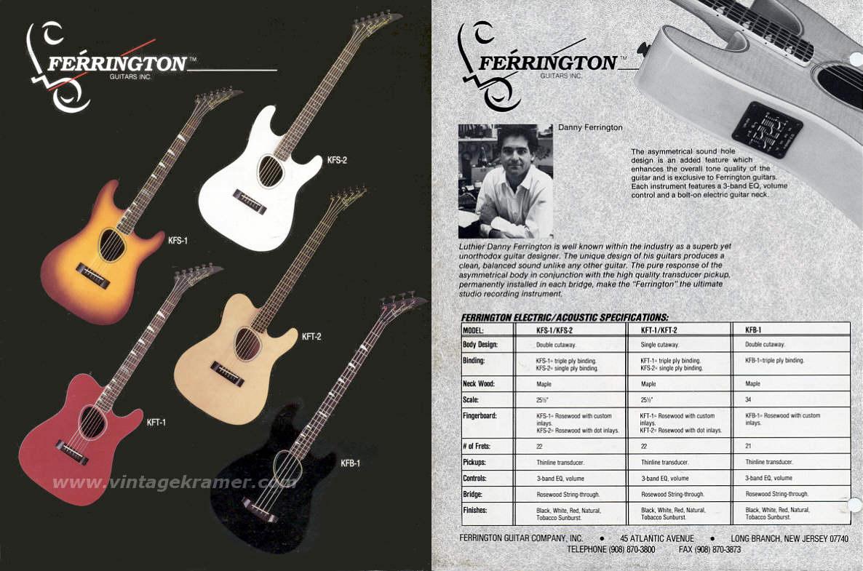 The Kramer Ferrington Guitar Wiring Diagram Guitars
