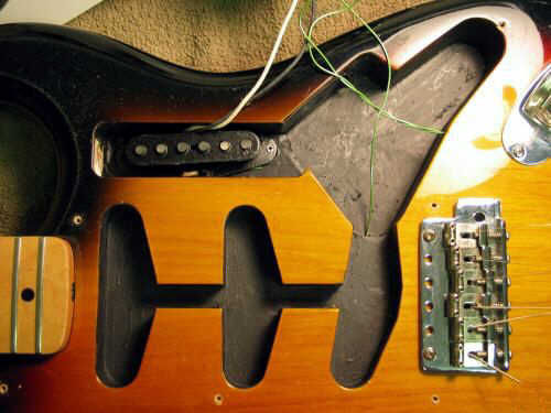 classic underthepickguard pickup kramer classic series Single Humbucker Wiring-Diagram at alyssarenee.co