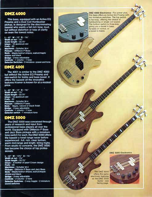 1979 Kramer Catalog