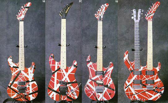 Edward Van Halen S Kramer 5150 Hybrid Guitar