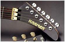 Original 84 Kramer Baretta Naner Headstock W Ohsc♫♪ Ebay