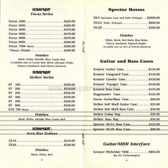 87pricelist4 kramer price lists kramer focus 2000 wiring diagram at honlapkeszites.co