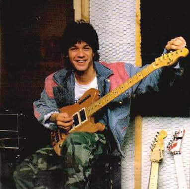 evh with his non-kramer ripley